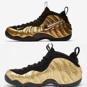 Nike | Kids Gold Foamposites